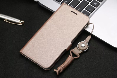 OPPO R11S/R11S Plus、R11/R11 Plus、R9S/R9S Plus、R9/R9 Plus Painted lanyard stand leather case