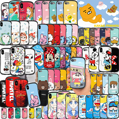 2018 Super Star BTS Korea Bangtan Boys Kakao friends Line We are bear case for iPhoneX 8 7 6 Samsung