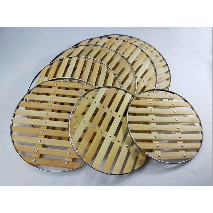 竹蒸片蒸墊蒸格蒸架包邊寬竹片蒸籠墊炒鍋篦子