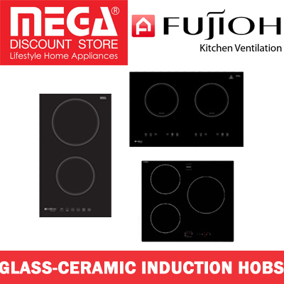 FUJIOH FH-ID5125/5120/5130 2/3 ZONES GLASS-CERAMIC INDUCTION HOB / LOCAL WARRANTY