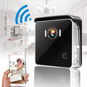 Wireless Doorbell Camera WiFi Remote Video Door Intercom IR Security Bell Phone