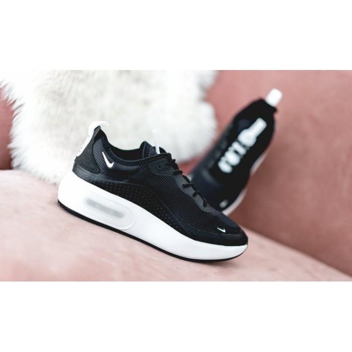 Files - Nike Wmns Air Max Dia 女鞋 黑白 氣墊 增高 休閒鞋 AQ4312-001