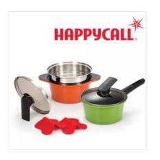 Happycall Alumite ceramic 2 pot / Kitchen Dining/ Cookware Baking/ Non Stick/ Happy Call/ Nonstick/ - intl