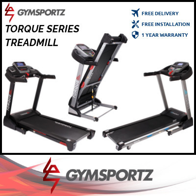 ★ GYMSPORTZ ★ FOLDABLE TREADMILL ★ TORQUE SERIES ★ HIGH-QUALITY ★ AFFORDABLE ★ HOME USE ★