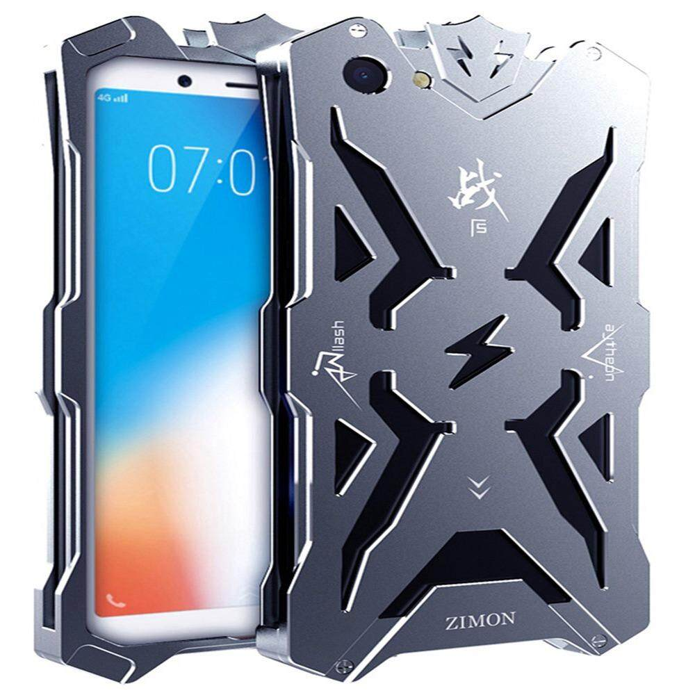 Vivo Y71 Case, [Thor Series] Hollow Design Full Signal Aviation Aluminum Metal Hard Rugged Strong Protection Case Cover For Vivo Y71 6.00""