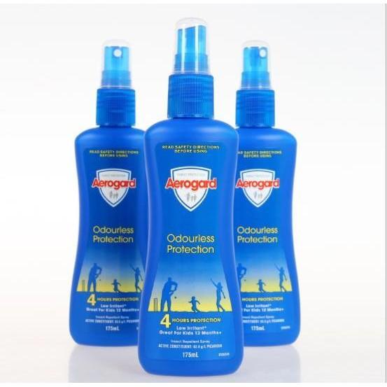 現貨全家都可以用的驅蚊水 澳洲正品 Aerogard 防蚊噴霧 乳液無刺激 戶外兒童驅蚊水175ml 防蚊液 驅昆蟲