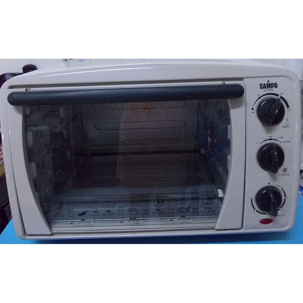 二手-聲寶旋風式電烤箱KZ-PF25C
