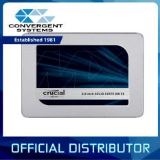 "Crucial MX500 2.5"" SATA SSD Capacities: 250GB / 500GB / 1TB / 2TB"