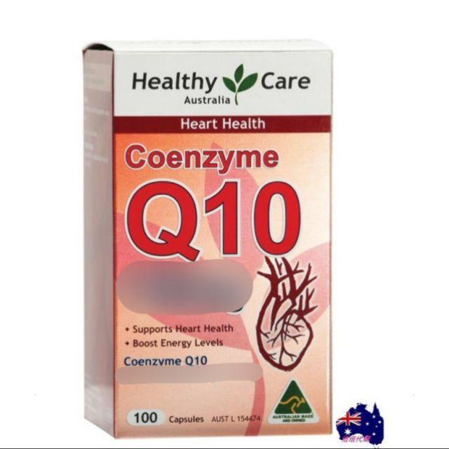 【現貨】澳洲Healthy Care 輔酶Q10軟膠囊100粒