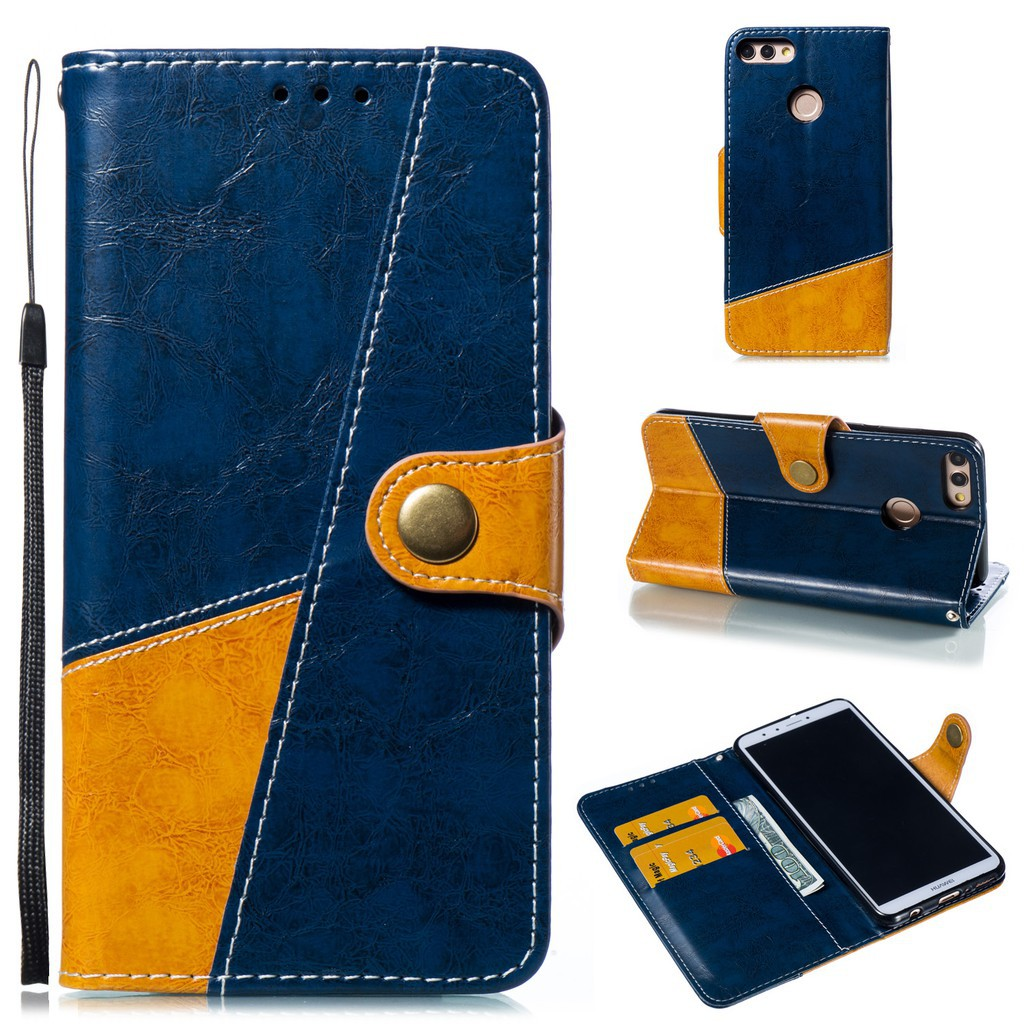 Stand Phone Case For Huawei Nova 2 Lite 3E Perfectly suited PU Leather cover