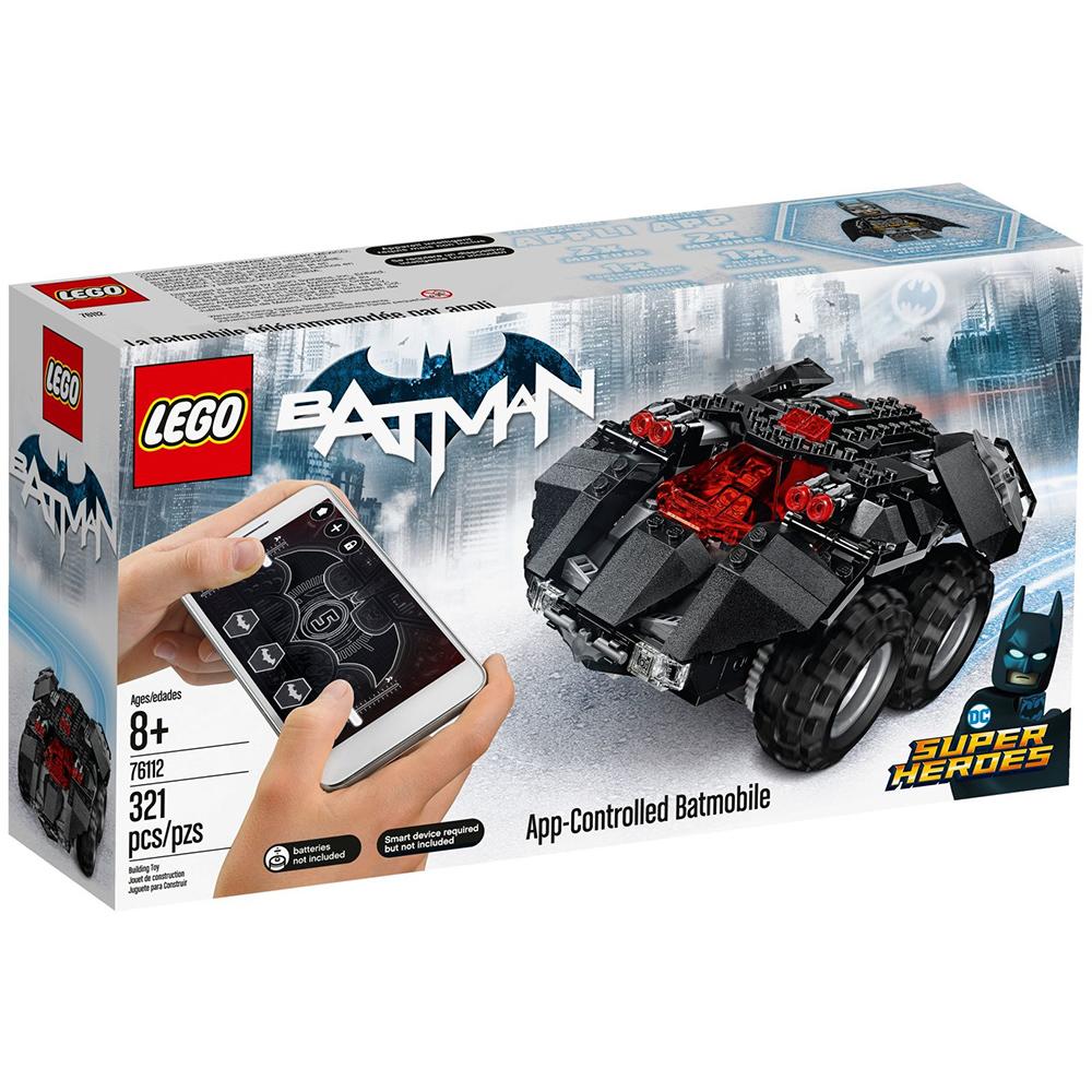 【2018】樂高LEGO 超級英雄系列 - LT76112 App-Controlled Batmobile