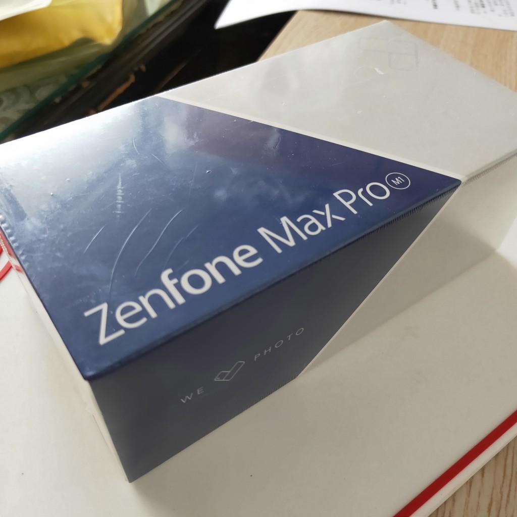 全新 ASUS ZenFone Max Pro 32GB 6吋 銀 大電量 ZB602KL