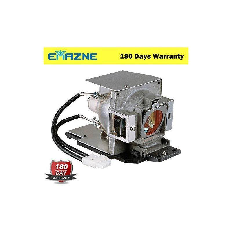 Emazne 5J.J3J05.001 Projector Replacement Compatible Lamp With Housing Work For BenQ MX760 BenQ MX761 BenQ MX762ST BenQ MX812ST BenQ TX762ST 180 Days Warranty