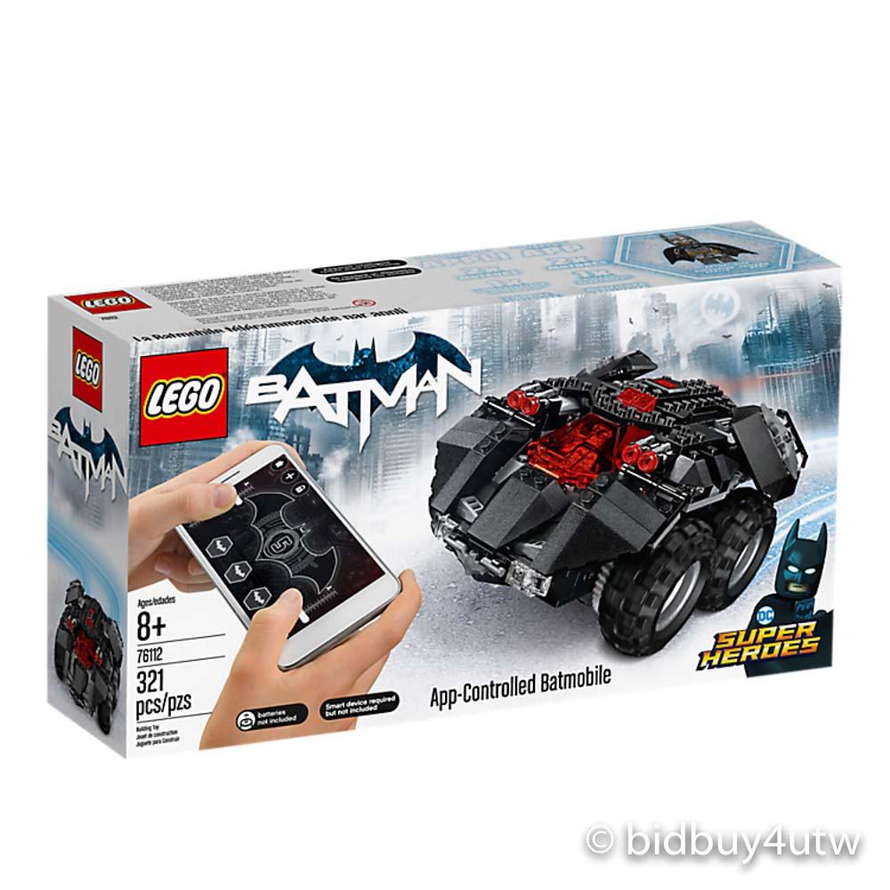 LEGO 76112 遙控蝙蝠裝甲車 樂高超級英雄系列【必買站】樂高盒組