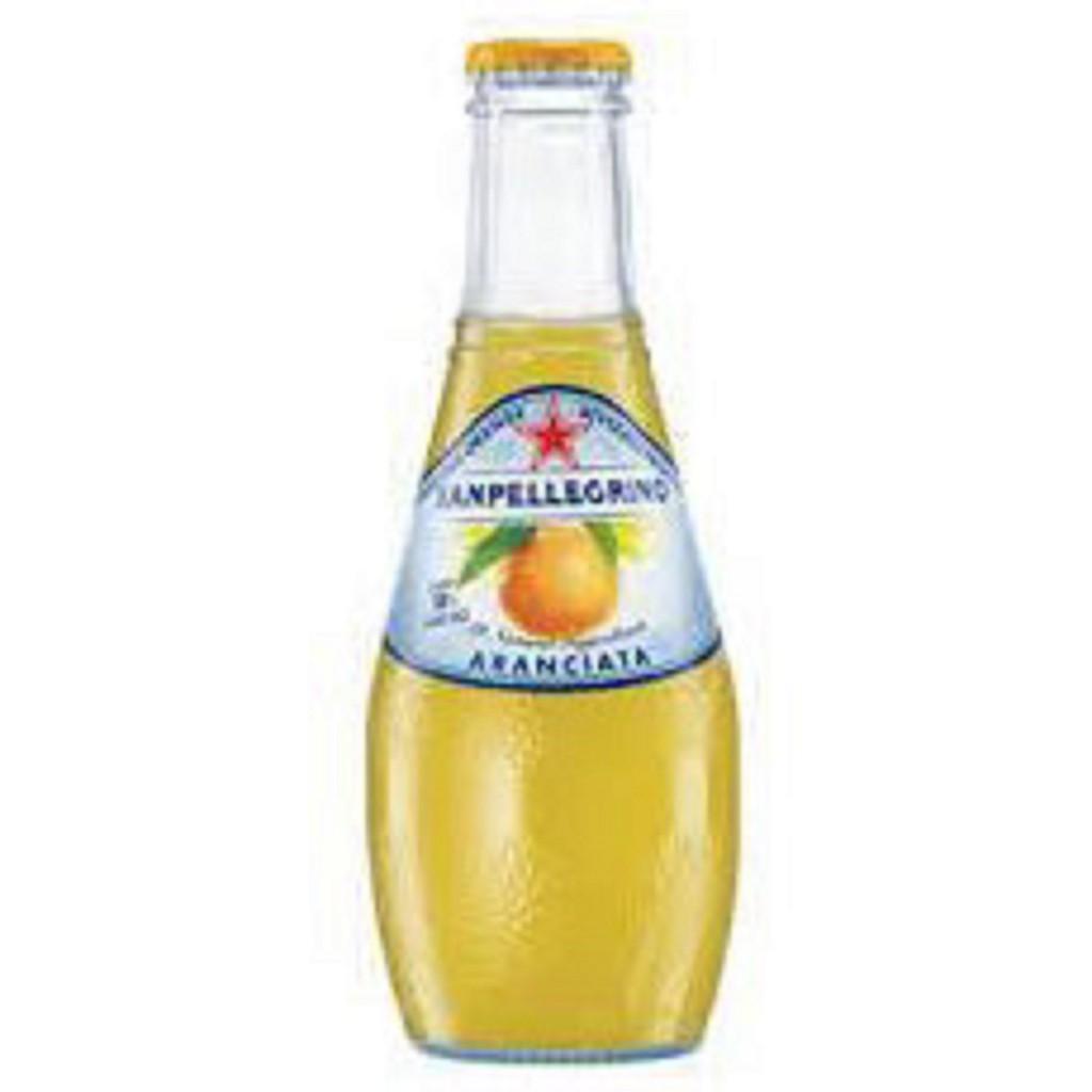 聖沛黎洛氣泡水果水(葡萄柚口味)200mlX24瓶X箱(玻璃瓶)