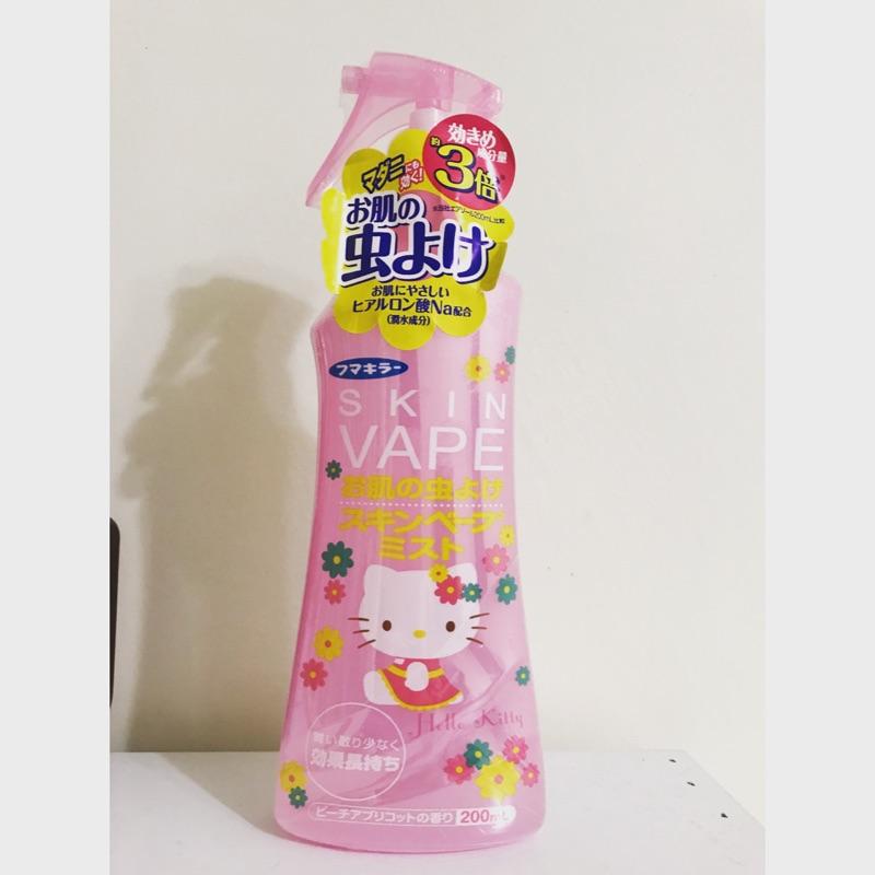 [日本購回]SKIN VAPE Hello Kitty防蚊噴霧