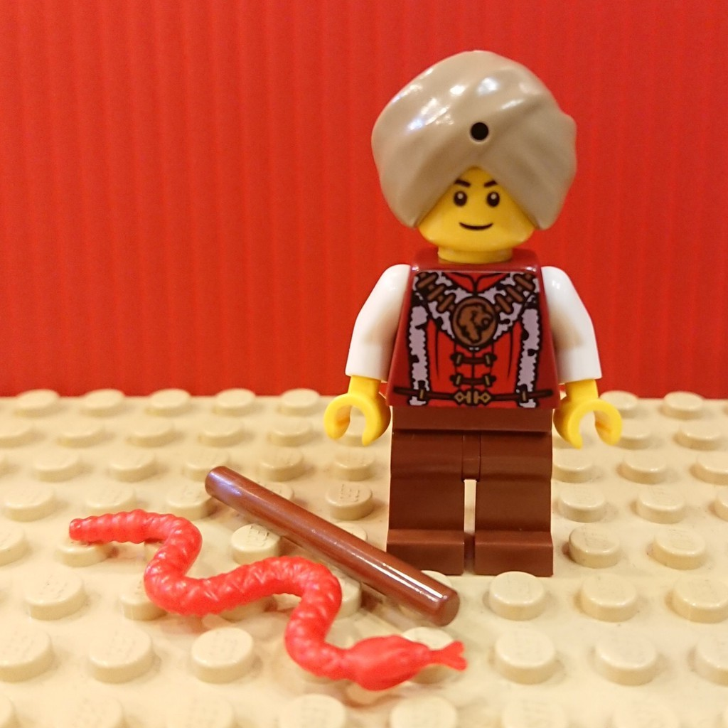 【Joyw】樂高 LEGO 玩蛇人