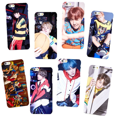 Koera Fashion BTS Bangtan Boys JIMIN Suga Rap Monster V Jin Jung Kook J-hoop Soft TPU Phone Case Cov