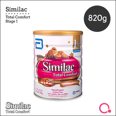 [Abbott]【New!】Similac Total Comfort 820g | Stage 1