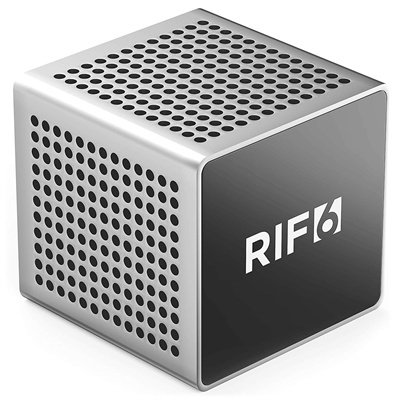 RIF6 Cube Full LED Mini Projector - 1080p Supported Portable Projector with Built-in Speakers, HDMI