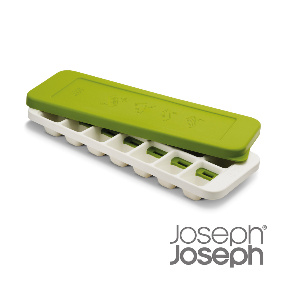 Joseph Joseph 不多拿附蓋製冰盒(綠)