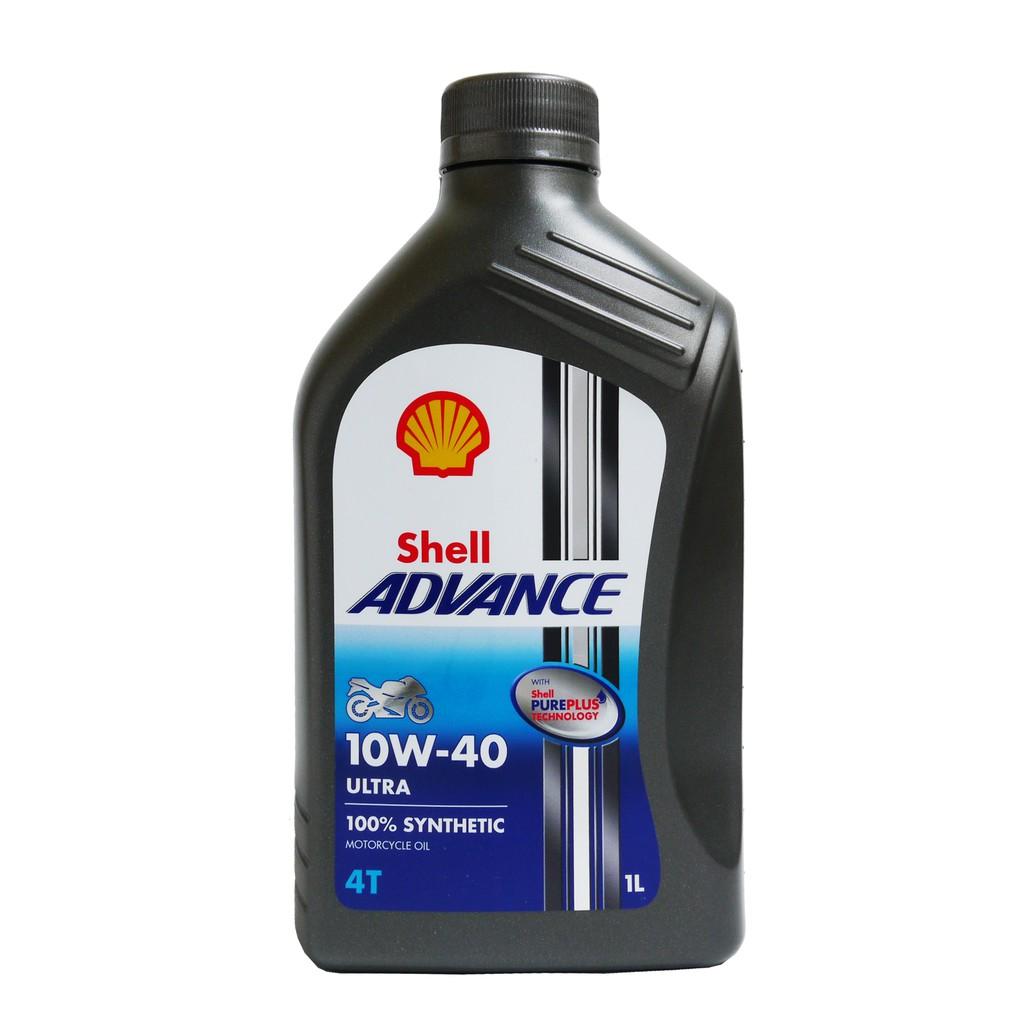 油購站 整箱12罐免運 Shell 殼牌 Ultra 4T 10W40 全合成機油