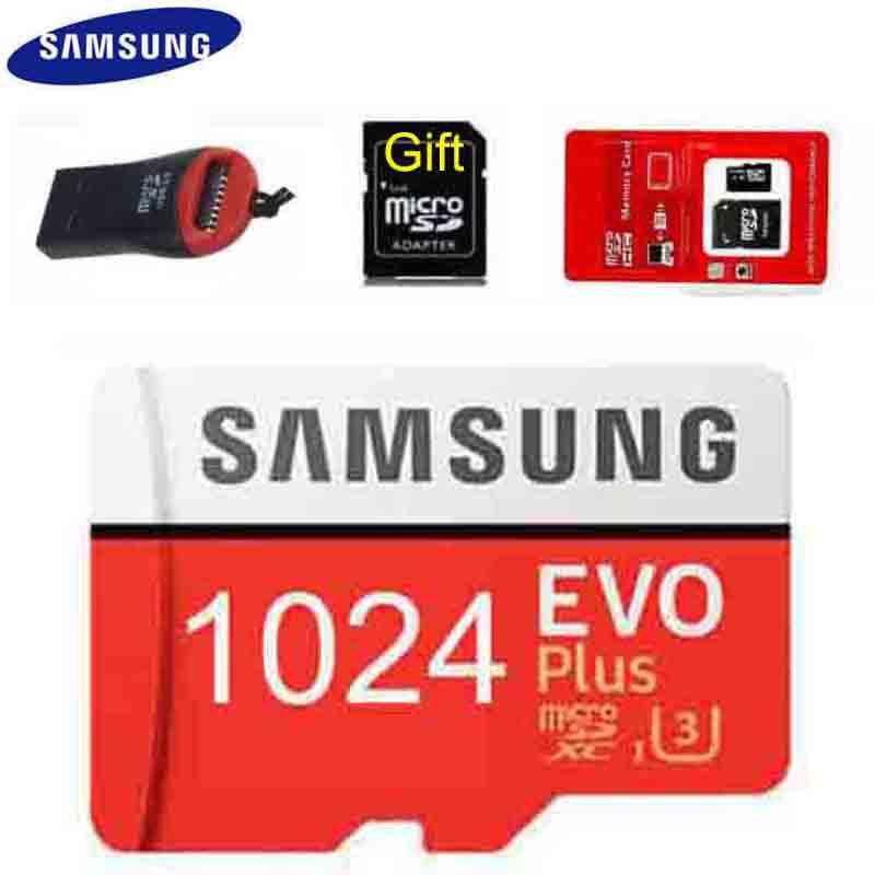 1024GB三星Samsung EVO Plus SD卡手機記憶卡MicroSD卡 TF閃存卡1024G存儲卡1TB