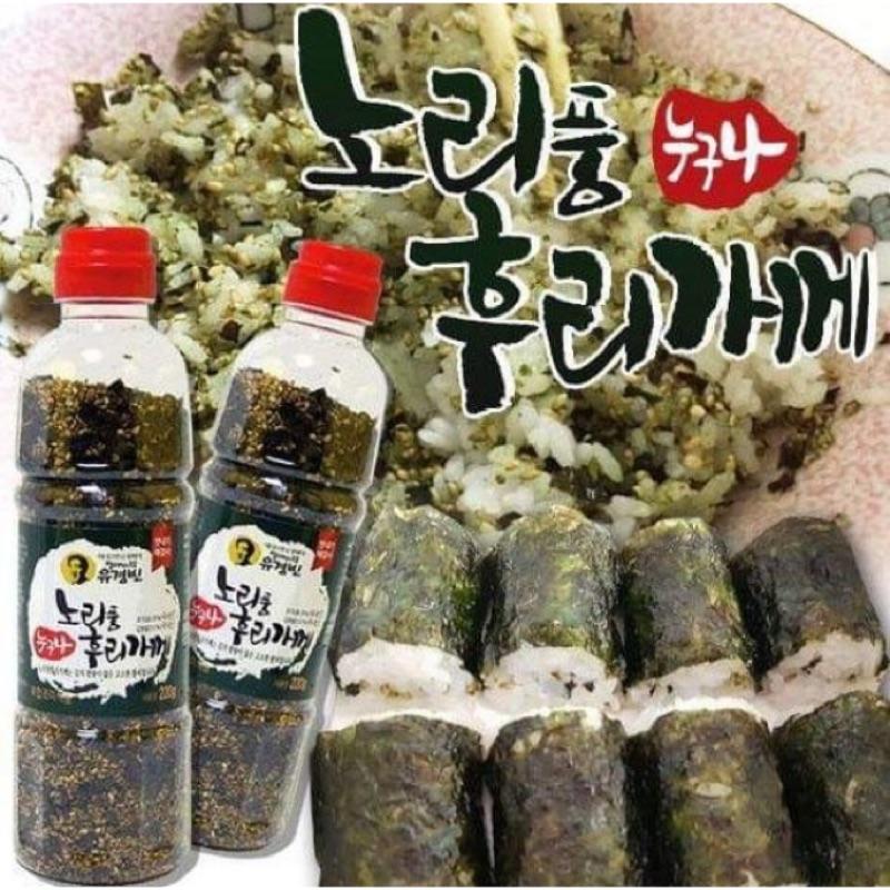 韓國市場正宗手工海苔芝麻香鬆