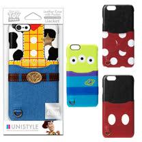 日本 PGA-iJacket Disney海外限定版皮革背蓋口袋iPHONE7 Plus硬殼保護殼