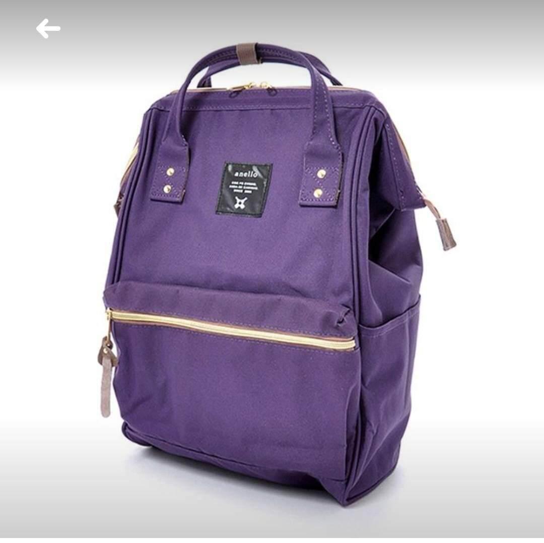 Anello Regular Backpack ม่วง