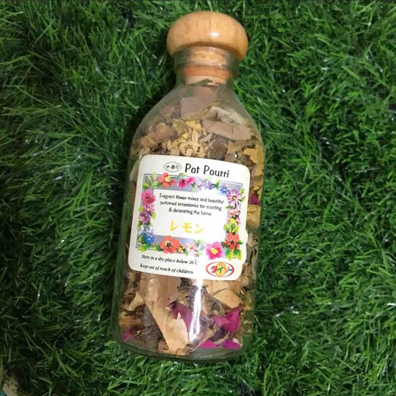 乾燥花玻璃瓶