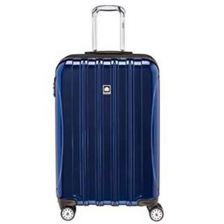 "Delsey Helium Aero 25"" 25 inch Expandable Spinner Trolley 4 Wheel Wheeled Suitcase Luggage Holiday Travel Bag"