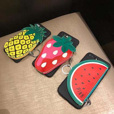 OPPO R11、R11 Plus、R9、R9 Plus、R9S、R9S Plus   Hand wallet fruit Case