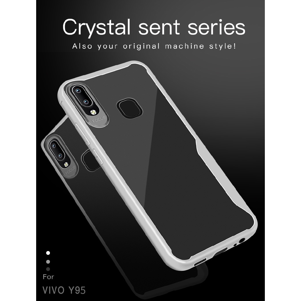 VIVO V7 V9/Y85/  V7 PLUS Y71 2018 Y71 Y83 Y53 V11/V11pro Y95 TPU case Soft Clear