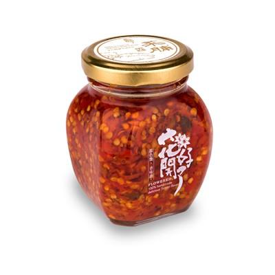 花開好了純手工辣椒醬-菜圃辣醬-每日新鮮製作/辣醬專家/純天然不含防腐劑/魚乾/菜圃/薑香/洋蔥/紅蔥頭
