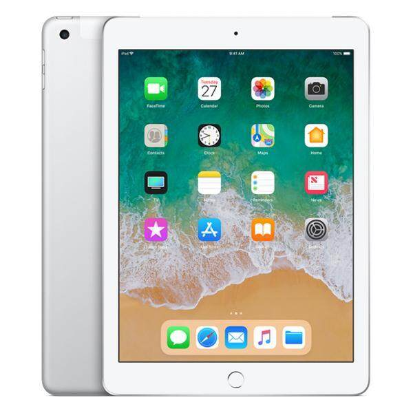Apple iPad Wi-Fi + Cellular 32GB - Silver (6th Gen)