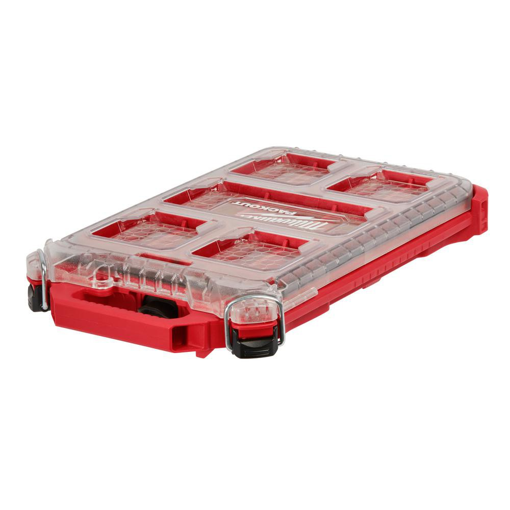 Milwaukee 米沃奇48-22-8436 美沃奇 PACKOUT 行動收納系統工具箱 可堆疊工具箱 零件盒