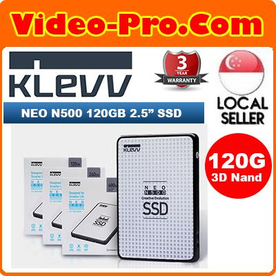 Klevv Neo N500 120GB 2.5Inch 3D Nand SSD Read Upto 520MB/s Write : Upto 470MB/s D120GAA-N500