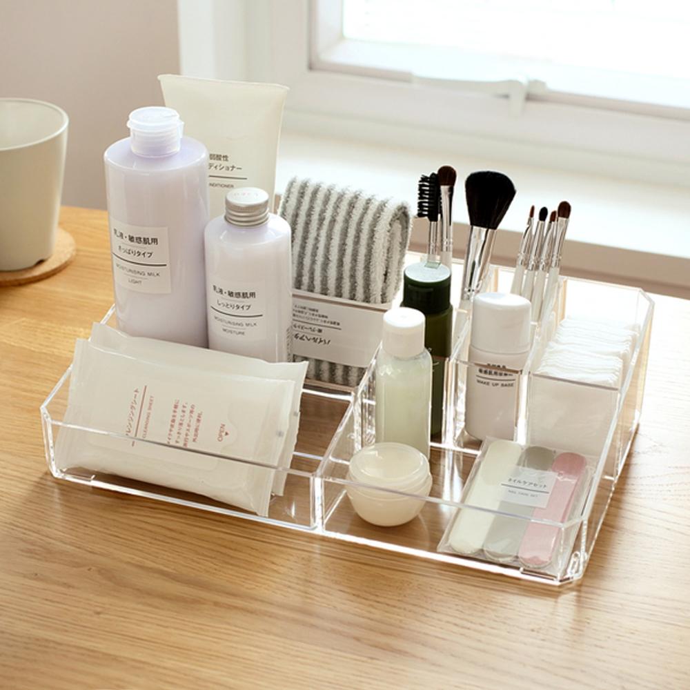 IDEA-透明壓克力化妝品小物收納盒-大