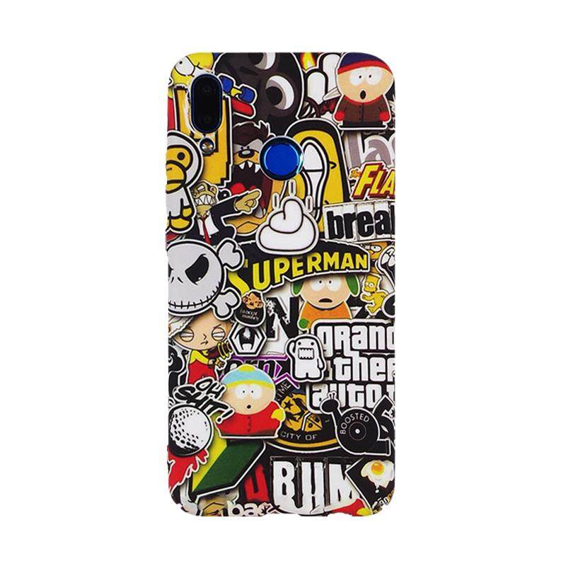 For Huawei Nova 3i Case Cartoon Hard Case PC Back Cover for Huawei Nova 3i Phone Case