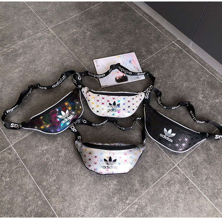 3d Issey Miyake Adidas Shoulder Bag Outdoor Sling Bags Gym Chest Messenger Begs