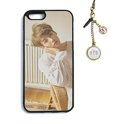 Fanstown Kpop BTS Bangtan Boys iPhone 6/6s case Love Yourself 承 HER + Dust Plug Charm (F03)