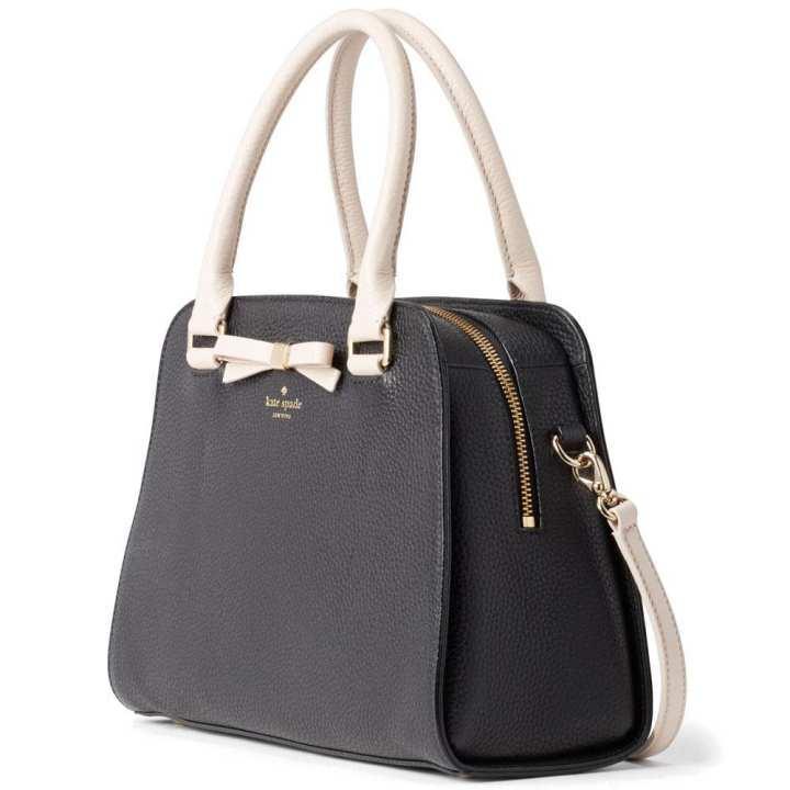 Kate Spade Henderson Street Sawyer Crossbody Bag Handbag Black