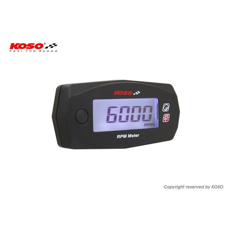 【杰仔小舖】KOSO MINI4液晶轉速表/轉速錶,適用:馬車/勁戰/GTR/CUXI/DIO/勁風光/迪奧/RS