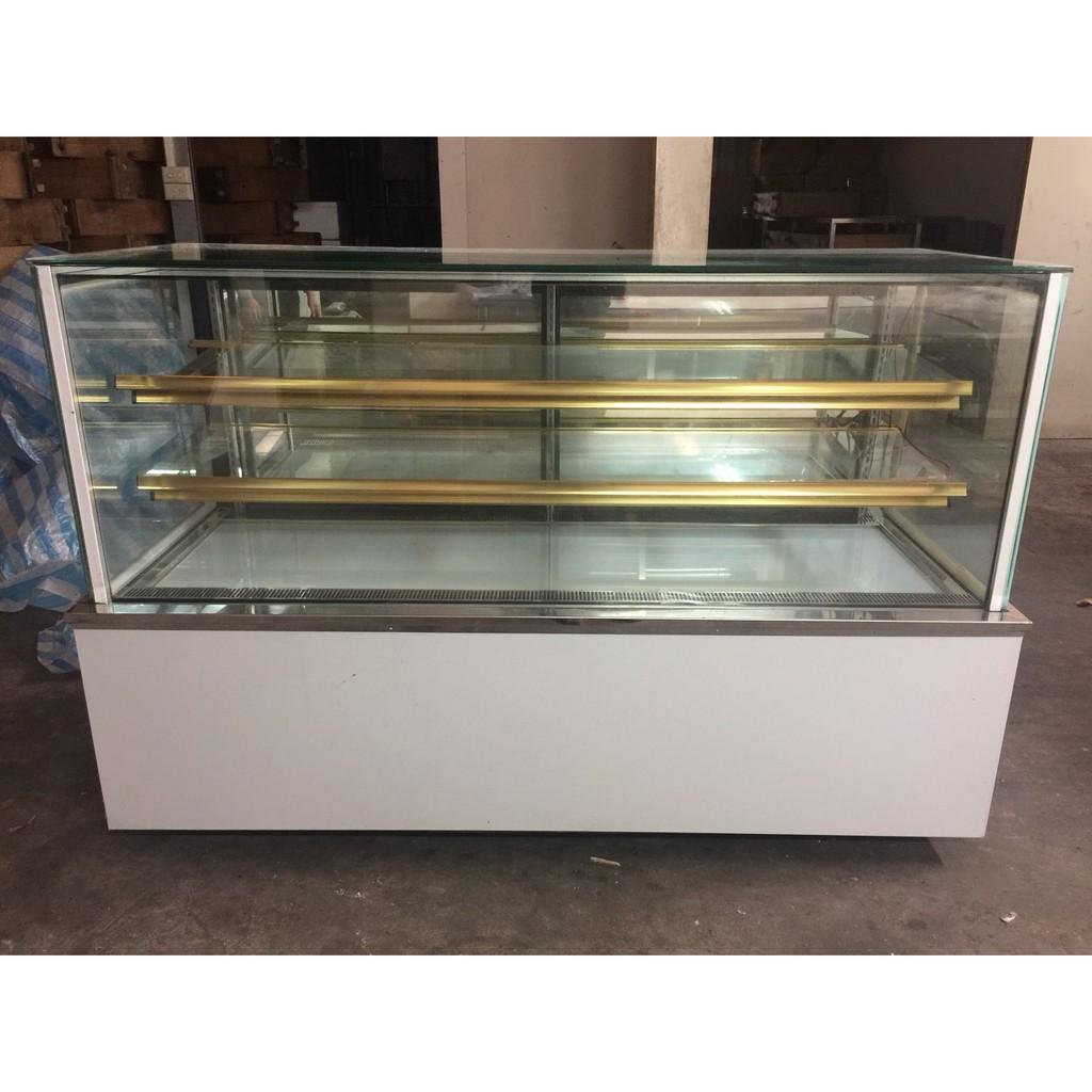 【出清日式直角展示冰箱】6尺落地型蛋糕櫃 3層蛋糕櫃 展示冰箱 蛋糕展示櫃