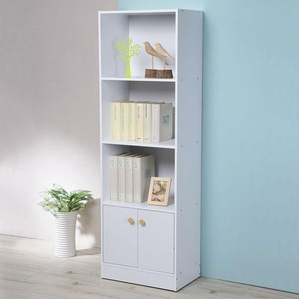 [現貨] Yostyle 日式二門四層書櫃 收納櫃 置物櫃 邊櫃