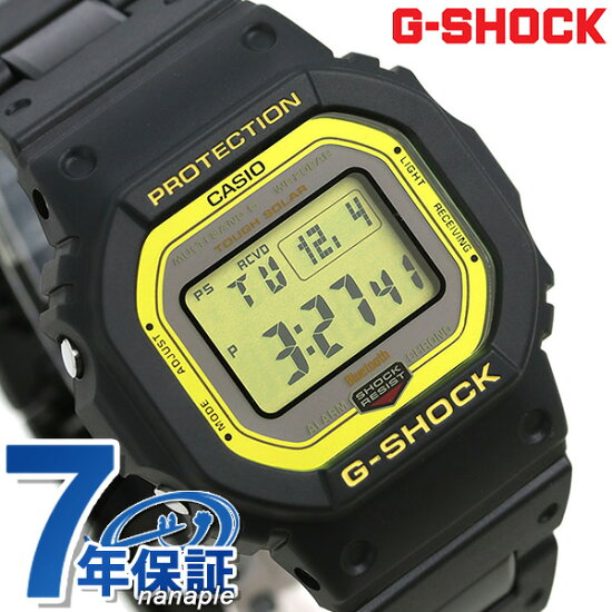G-SHOCK電波太陽能GW-B5600數碼Bluetooth手錶GW-B5600BC-1ER G打擊黑色 nanaple