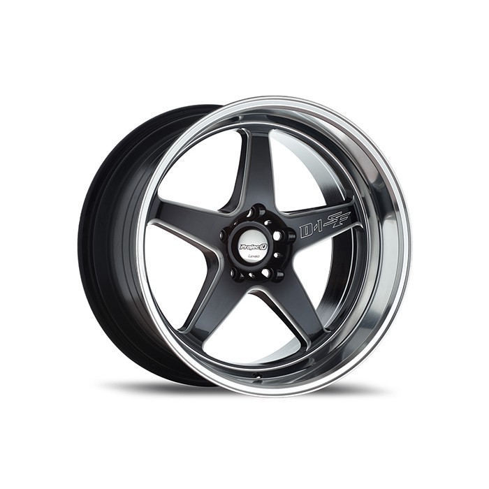 "แม็ก Lenso D-1SF (Medium) Series: ProjectD BKMA Size 18""x9.5"" P.C.D. 5x114.3 ET 45"