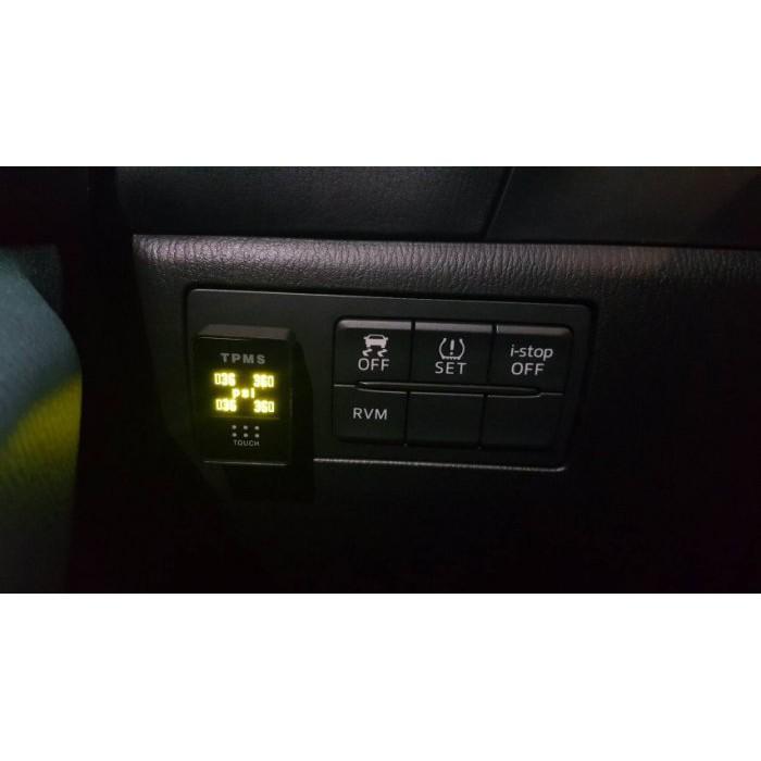 【車輪屋】ORO W417CA TPMS 盲塞式 自動調胎 胎壓偵測器 公司貨 保固兩年 Mazda 車系 專用