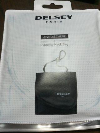 Delsey security neck bag